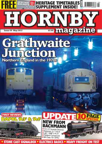 Hornby Magazine issue May 2012