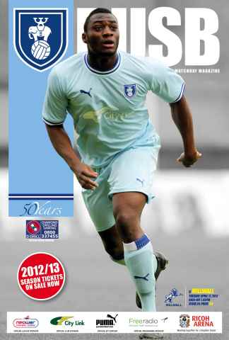 CCFC Official Programmes issue 24 v MILLWALL (11-12)
