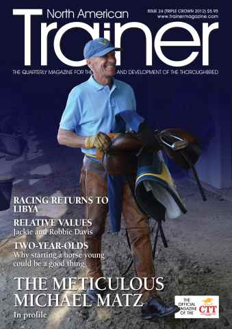 North American Trainer Magazine - horse racing issue Issue 24 - Triple Crown 2012