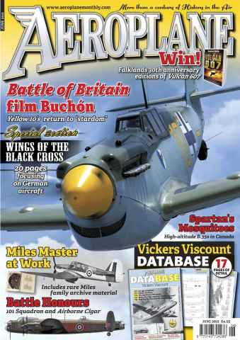 Aeroplane issue No.470 Wings of Black Cross