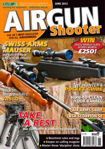 Airgun Shooter issue June 2012