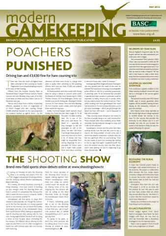 Modern Gamekeeping issue MAY 2012