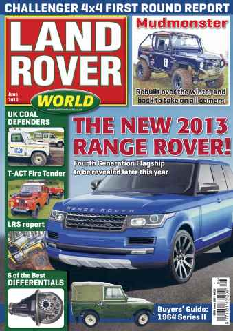 Landrover World issue LRW June 2012