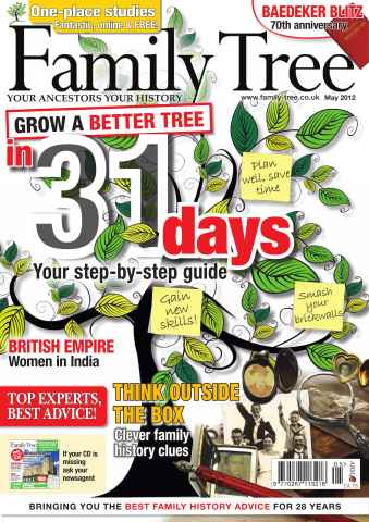 Family Tree issue May 2012