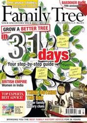 Family Tree issue May 2012