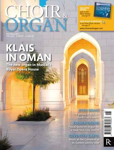 Choir & Organ issue Choir & Organ May-June 2012