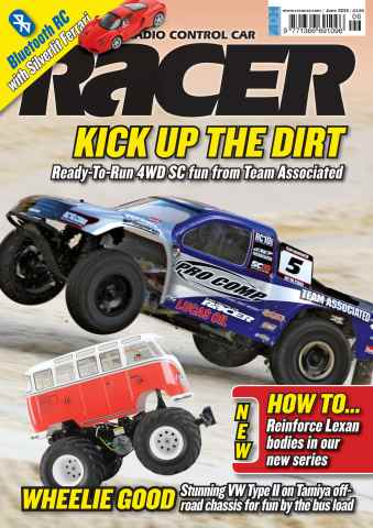 Radio Control Car Racer issue June 2012