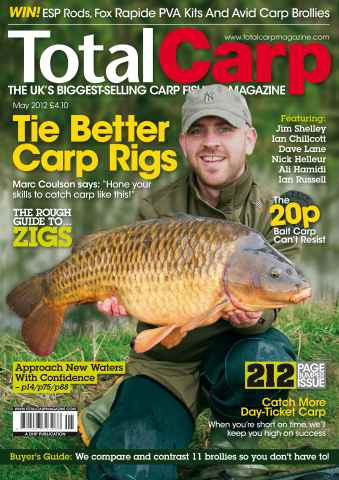 Total Carp issue May 2012