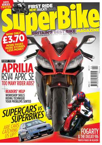 Superbike Magazine issue April 2011