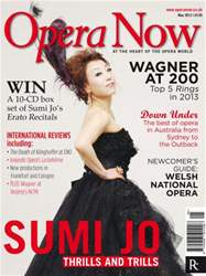 Opera Now issue Opera Now May 2012