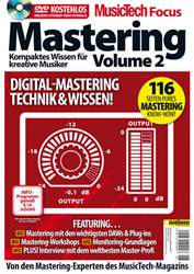 MusicTech Focus Deutsch issue Music Tech Focus: Mastering Vol2