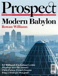 Prospect Magazine issue 194. May 2012