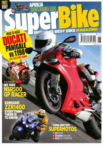 Superbike Magazine issue June 2012
