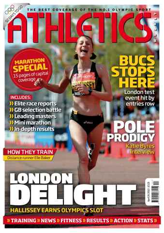 Athletics Weekly issue AW April 26 2012