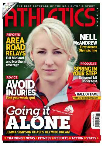Athletics Weekly issue AW April 5 2012