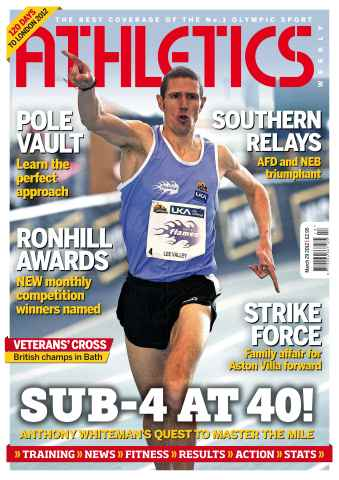 Athletics Weekly issue AW March 29 2012