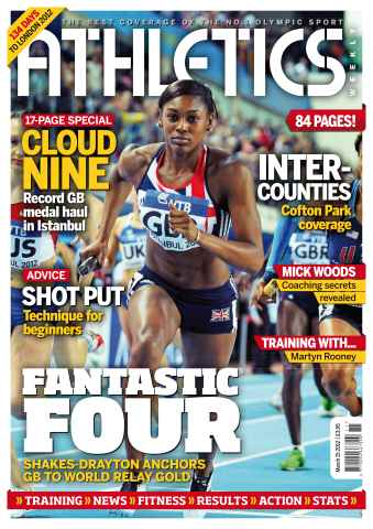 Athletics Weekly issue AW March 15 2012