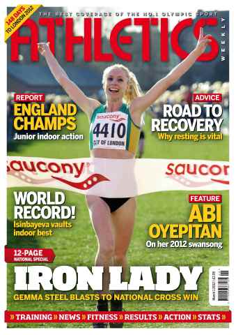 Athletics Weekly issue AW March 1 2012