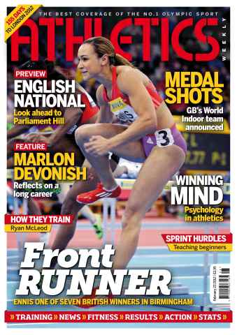 Athletics Weekly issue AW Feb 23 2012