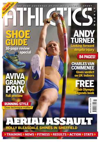 Athletics Weekly issue AW Feb 16 2012