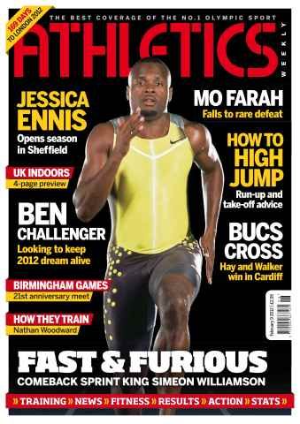 Athletics Weekly issue AW Feb 9 2012
