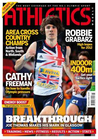 Athletics Weekly issue AW Feb 2 2012