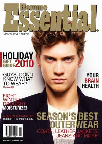 Essential Homme issue November-December 2010