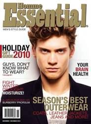 Essential Homme issue November-December 2010