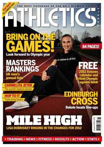 Athletics Weekly issue AW Jan 5 2012