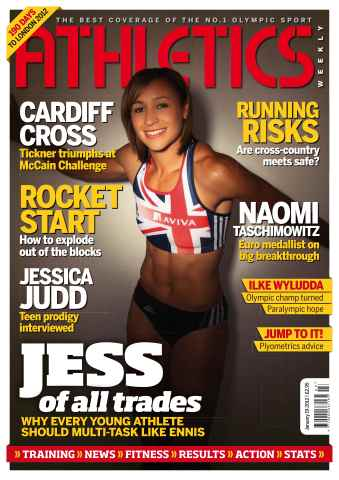 Athletics Weekly issue AW Jan 19 2012