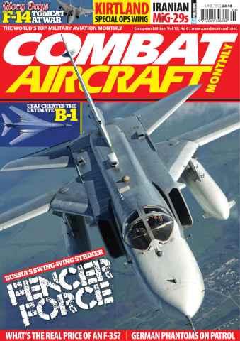 Combat Aircraft issue Vol 13 No 6