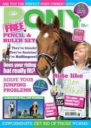 Pony Magazine issue Spring 2011