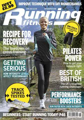 Running Fitness issue The Go-Faster Issue June 2012