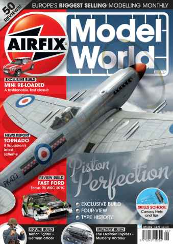 Airfix Model World issue June 2012