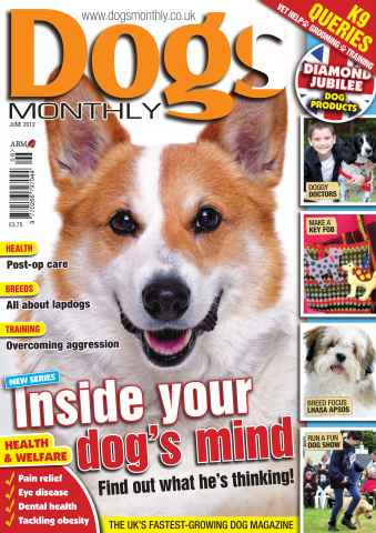 Dogs Monthly issue June 2012