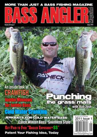 BASS ANGLER MAGAZINE issue Volume 20 Issue 1