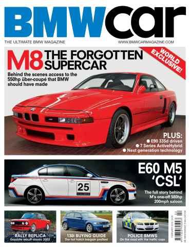 BMW Car issue February 2010