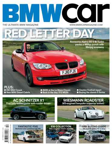 BMW Car issue October 2010