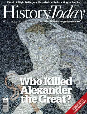 History Today issue April 2012