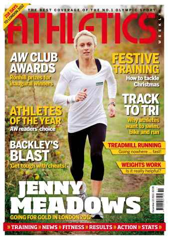 Athletics Weekly issue AW Dec 22 2011
