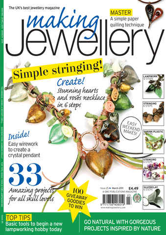 Making Jewellery issue March 2011