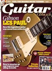 Guitar & Bass Magazine issue June 2012 Gibson Les Paul