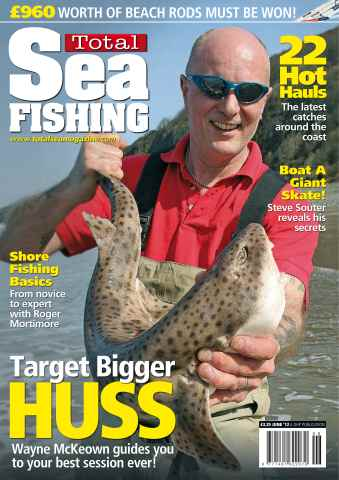 Total Sea Fishing issue June 2012