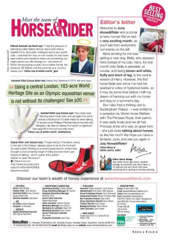 Horse&Rider Magazine - UK equestrian magazine for Horse and Rider Preview 3