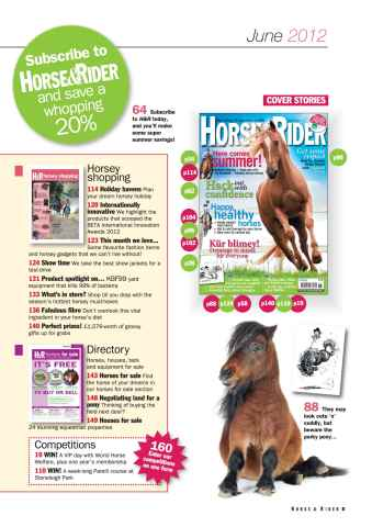 Horse&Rider Magazine - UK equestrian magazine for Horse and Rider Preview 5
