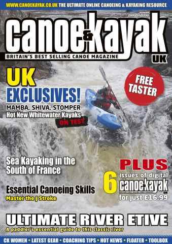 Canoe & Kayak UK issue Free Canoe & Kayak UK taster
