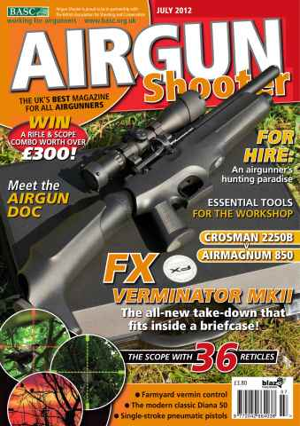 Airgun Shooter issue July 2012