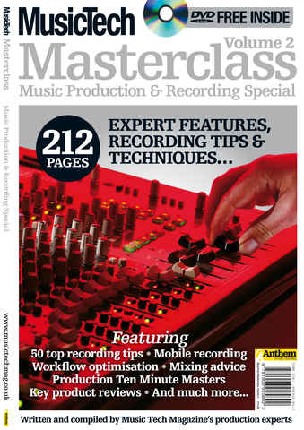 Masterclass Recording and Produc issue Masterclass Vol.2