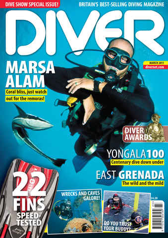 DIVER issue March 2011