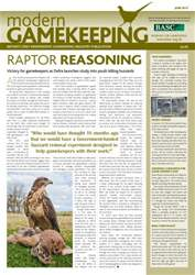 Modern Gamekeeping issue JUNE 2012